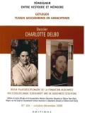 N°105 (12/2009) Charlotte Delbo