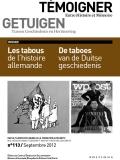 N° 113 (septembre 2012) : Les tabous de l'histoire allemande