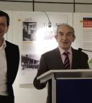 Inhuldiging van de Tentoonstelling 'België 1914-1945. Levensverhalen van getuigen in het oog van de storm' in het Europees Parlement